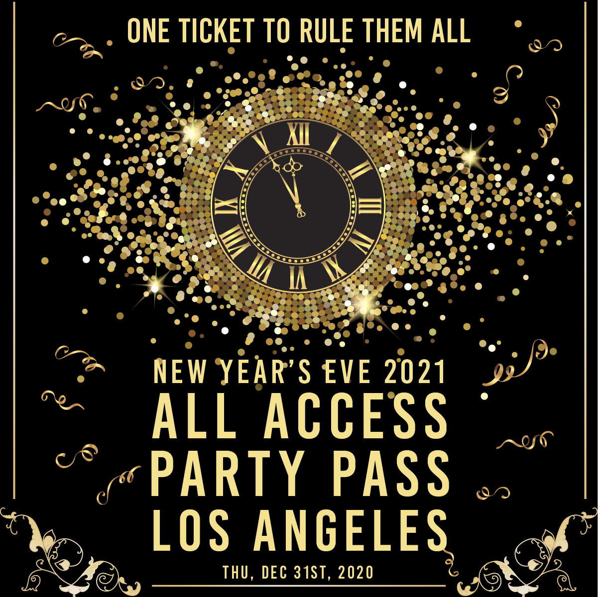 All Access Party Pass | Los Angeles New Years Eve Parties | Buy Tickets Now