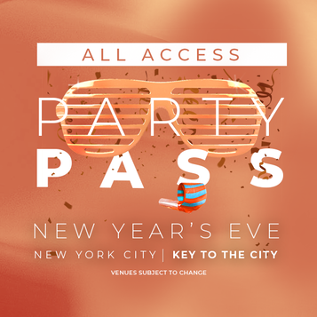 All Access Party Pass NYC NYE Party Pass