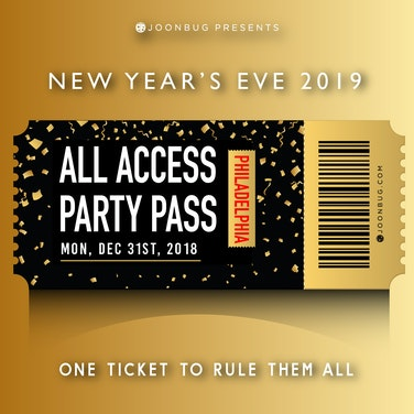 Philadelphia All Access NYE Party Pass
