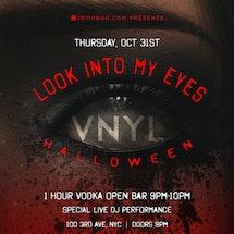 VNYL Halloween 10/31
