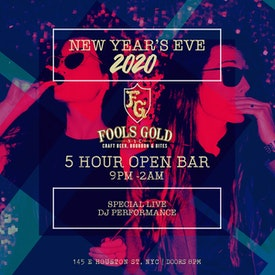 Fool's Gold New Year's Eve