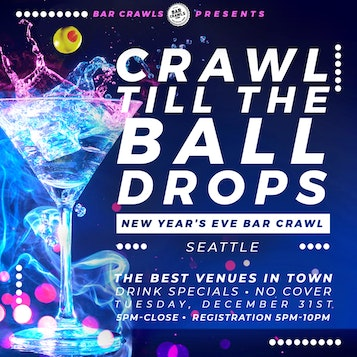 Seattle New Year's Eve Bar Crawl