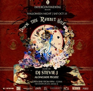 Down the Rabbit Hole Halloween Party