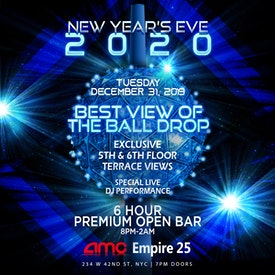 AMC Times Square NYE Ball Drop Live View