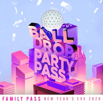 Ball Drop Times Square Family Party Pass