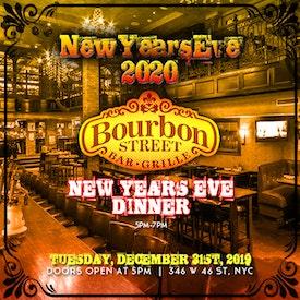 Bourbon Street Dinner [5pm to 7pm]