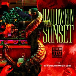 Sunset Halloween Party