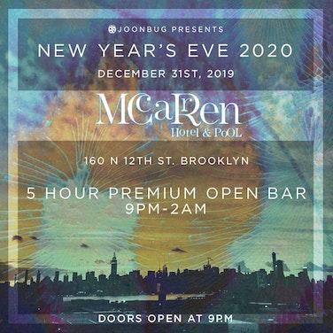 McCarren Hotel Rooftop NYE Party