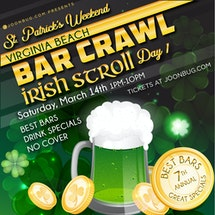 Virginia Beach St Patrick's Bar Crawl Day 1
