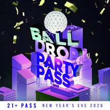 Ball Drop Times Square Party Pass
