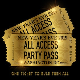 All Access DC NYE Party Pass