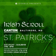 Baltimore Canton St. Patrick's Bar Crawl