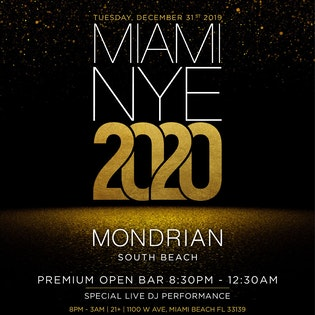 Miami New Years Eve 2020 Events.Miami Nye Events New Years Events