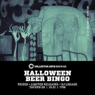 Halloween Beer Bingo at Tavern 29
