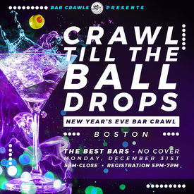 Boston New Year's Eve Bar Crawl