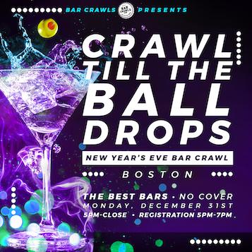 Boston New Year's Eve Bar Crawl