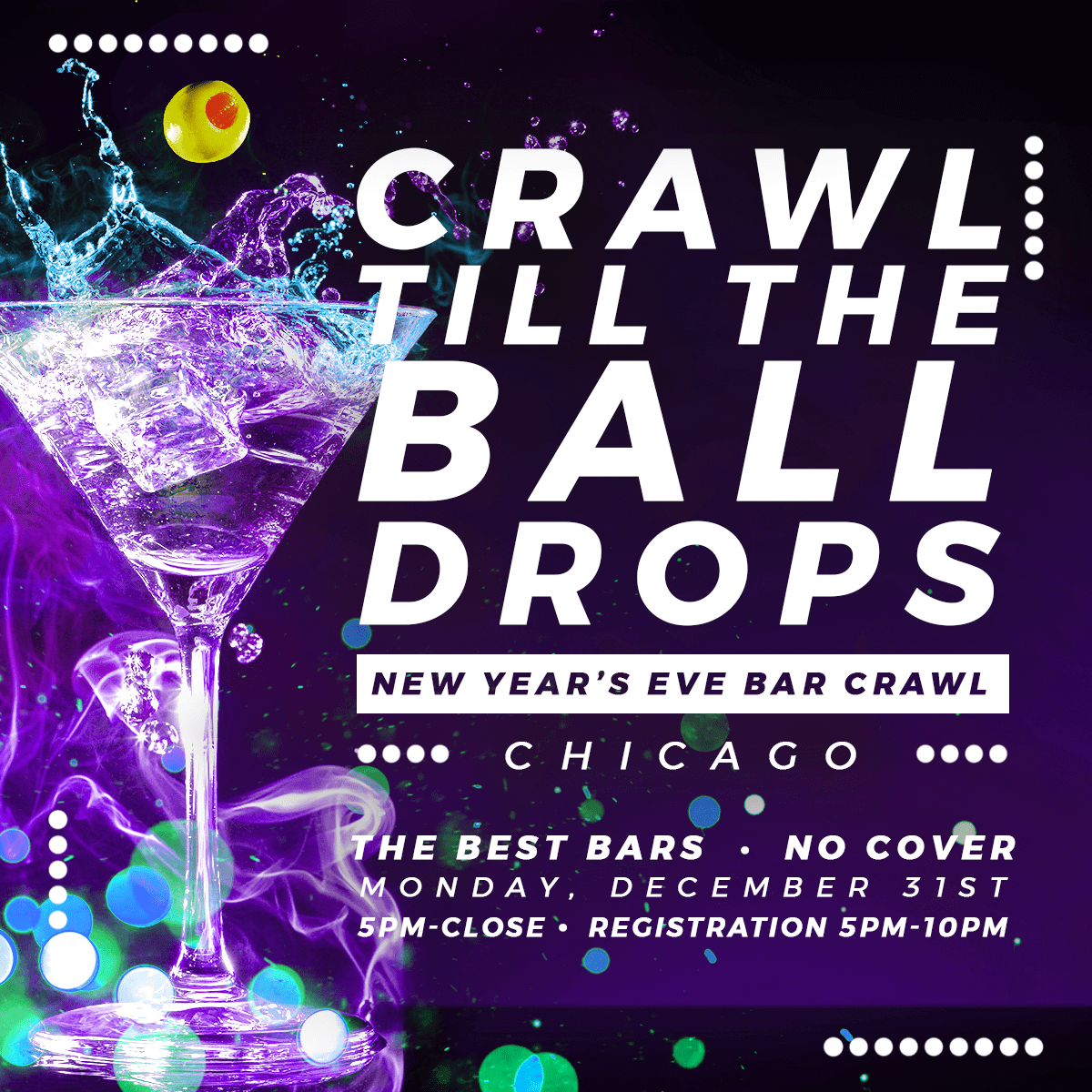 Chicago New Year S Eve Bar Crawl New Years Events
