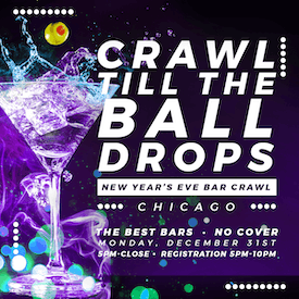 Chicago New Year's Eve Bar Crawl