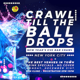 New York City New Year's Eve Bar Crawl