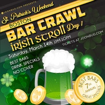 Boston St Patrick's Bar Crawl Day 1