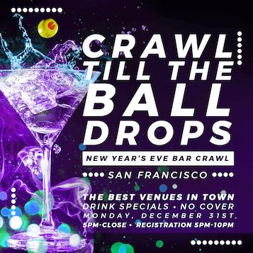 San Francisco New Year's Eve Bar Crawl