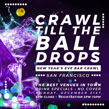 San Francisco New Year's Eve Bar Crawl