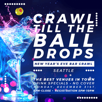 Seattle New Year's Eve Bar Crawl