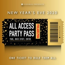 All Access Party Pass Philly NYE