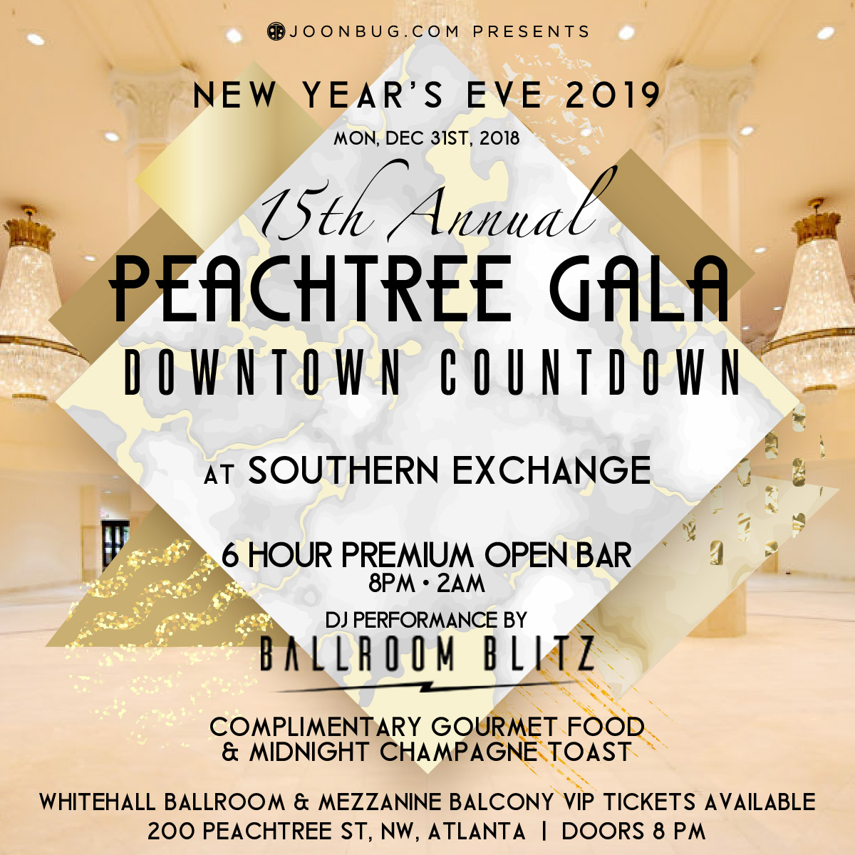 Southern Exchange At 200 Peachtree New Years Events