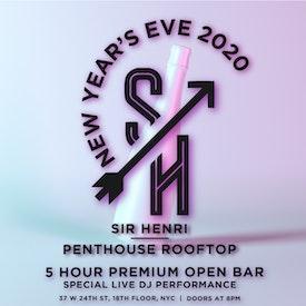 Sir Henri Rooftop NYE 2020