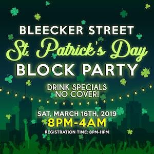Bleecker Street St. Patrick's Day Block Party