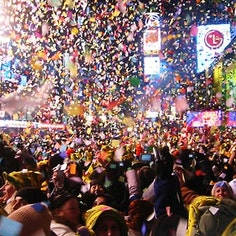 Times Square NYE Party Pass