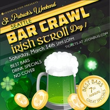 Seattle St Patrick's Bar Crawl Day 1