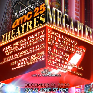 AMC Times Square NYE Mega-Plex (Age 21+)