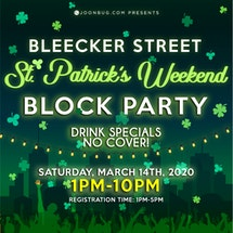 Bleecker Street St Patrick's Block Party Day 1