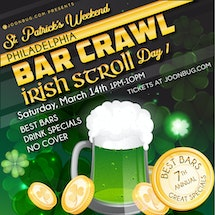 Philadelphia St Patrick's Bar Crawl Day 1