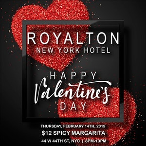 Royalton New York Hotel Valentine's Day 2019