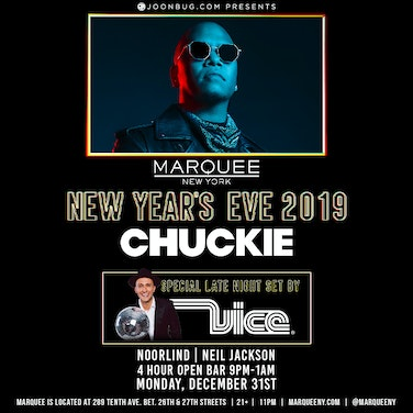 Marquee with Chuckie