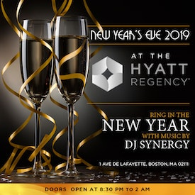 Boston Downtown Hyatt Regency Timeless NYE Gala 2019
