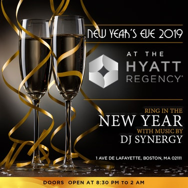 Boston Downtown Hyatt Regency Timeless NYE Gala 2019