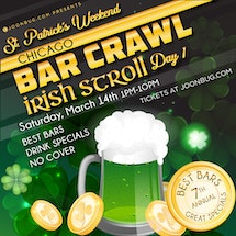 Chicago St Patrick's Bar Crawl Day 1