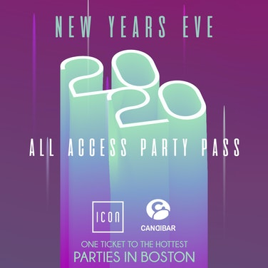 All Access Party Pass Boston NYE Party Pass