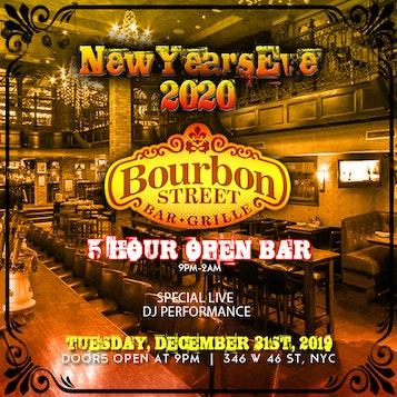 Bourbon Street Times Square