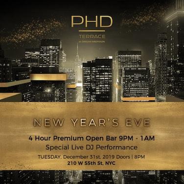 Dream Midtown Hotel PHD Terrace