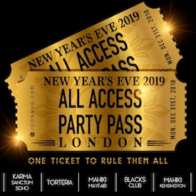All Access London NYE Party Pass