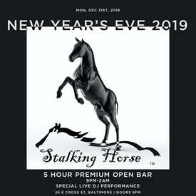 Baltimore Stalking Horse NYE19 12/31/18
