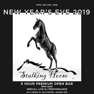 Baltimore Stalking Horse NYE19 12/31/18