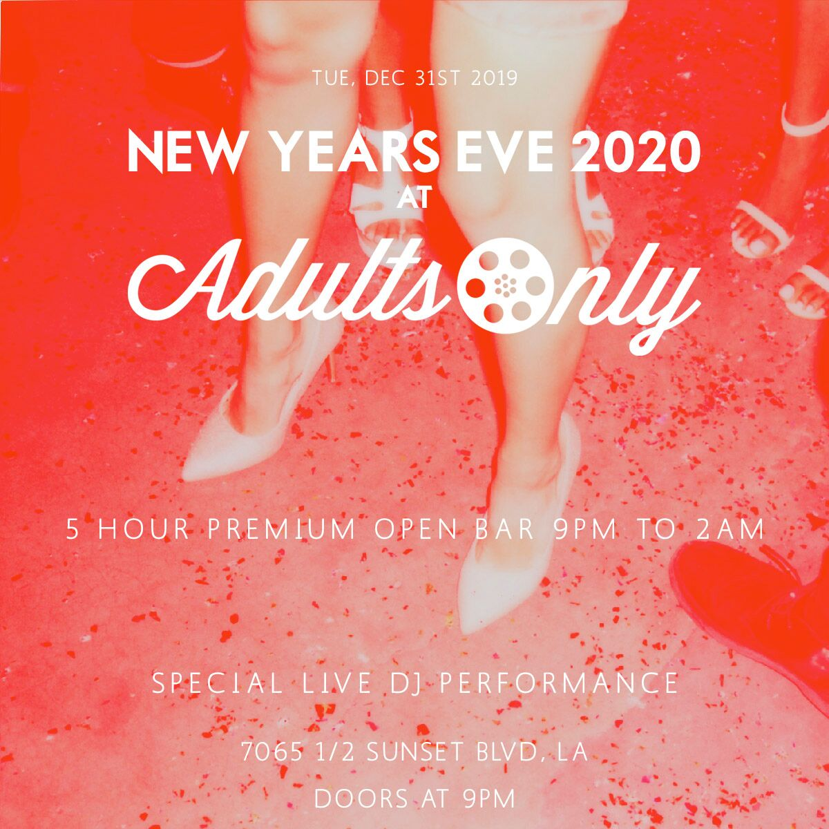 Adults Only | New Years Events
