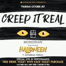 Mondrian Park Rooftop Halloween