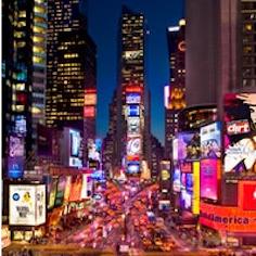 Millennium Broadway Ball Drop View (All Ages)